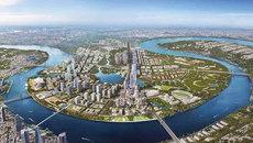 Chưa tìm ra bản đồ gốc quy hoạch khu đô thị mới Thủ Thiêm