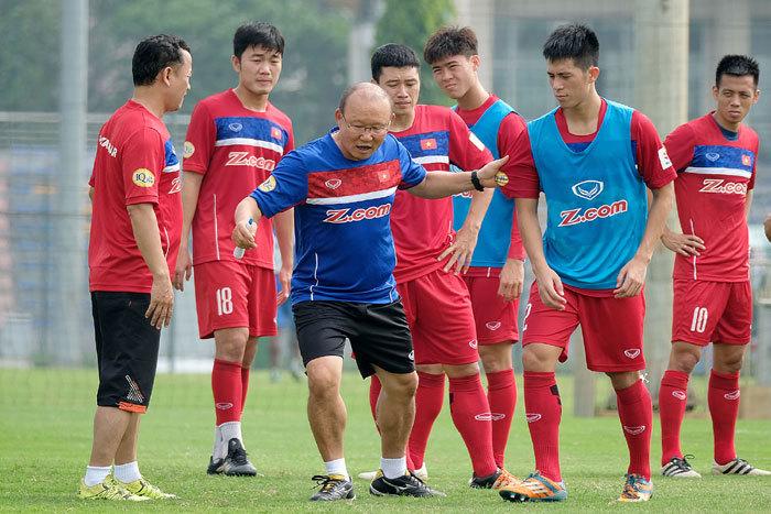 AFF Cup,tuyển Việt Nam,HLV Park Hang Seo