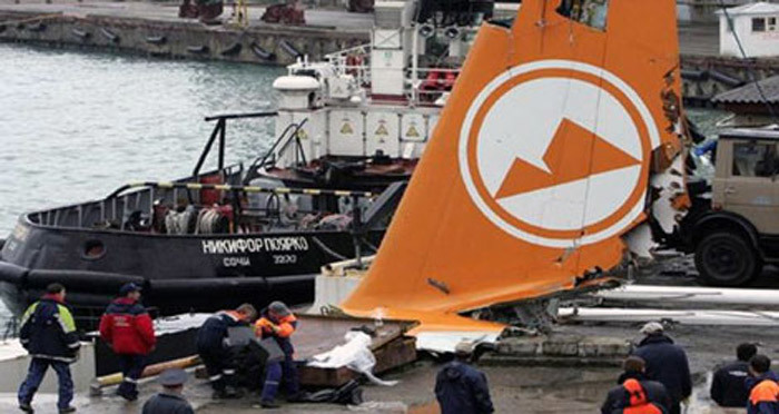 Ngày này năm xưa: Thảm họa máy bay ở Biển Đen, 113 người chết