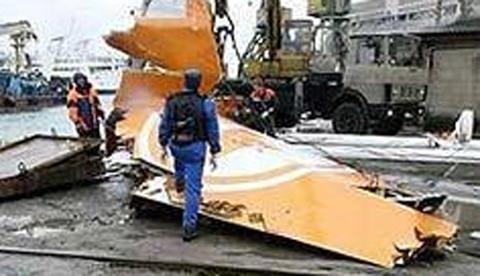 Máy bay đâm xuống biển ở Nga, 113 người chết