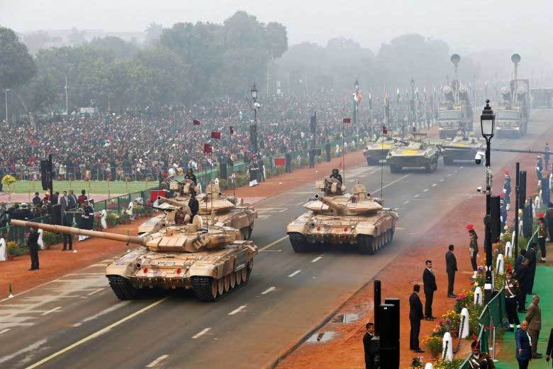 Căng thẳng với TQ, Ấn Độ chi quốc phòng hàng đầu thế giới