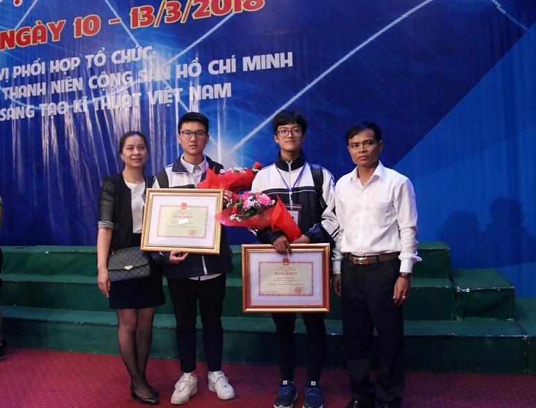 thi khoa học kỹ thuật,thi khoa học kỹ thuật quốc tế,Trường THPT chuyên Phan Bội Châu