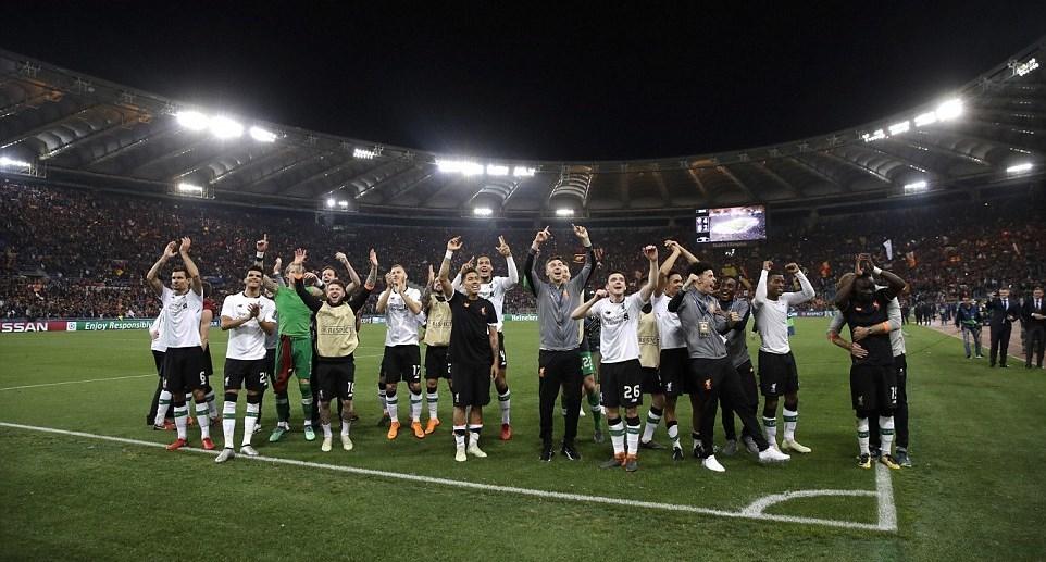Roma,Liverpool,Jurgen Klopp,Salah