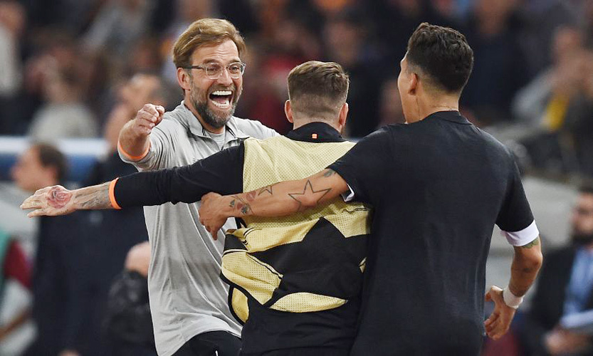 Liverpool,AS Roma,Klopp