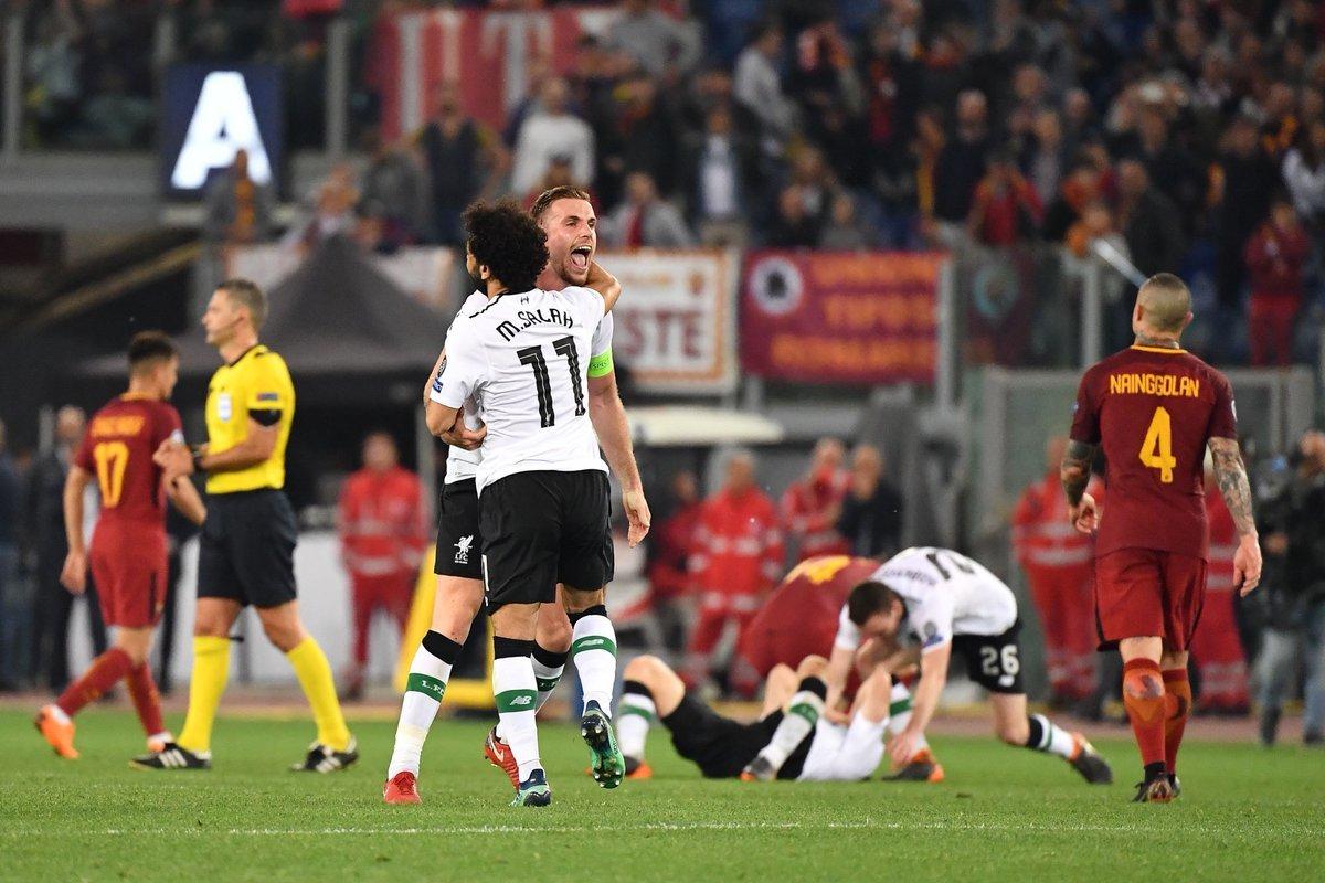 Liverpool run rẩy vào chung kết: Cảm ơn Roma!