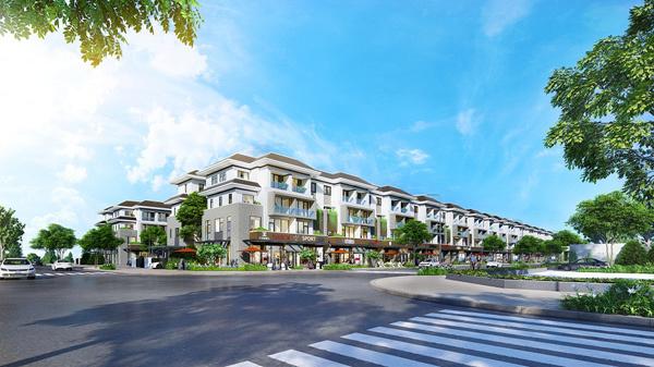 Đầu tưbền vững với biệt thự mặt tiền tại KĐT xanh