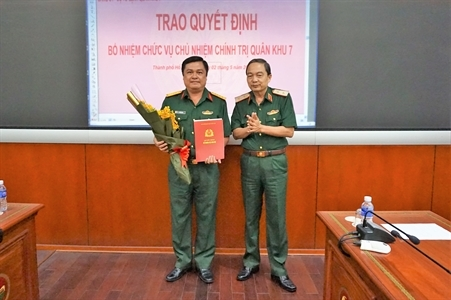 Triển khai quyết định nhân sự của Bộ trưởng Quốc phòng