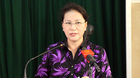 'Xử lý cán bộ tham nhũng không có vùng cấm, kể cả ủy viên Bộ Chính trị'