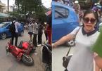 Nữ tài xế đất Cảng tuyên bố gây sốc rồi hung hăng bỏ đi