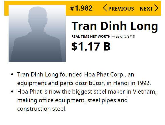 Đại gia Lê Phước Vũ mất 5.000 tỷ, gặp khó với tỷ phú Trần Đình Long