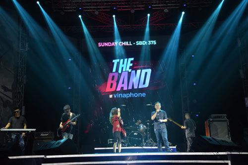 Thêm 3 ban nhạc vào chung kết The Band by Vinaphone