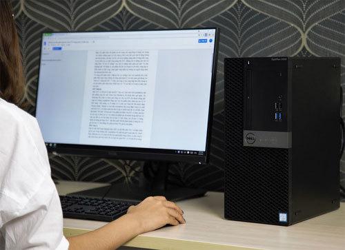 Không gian làm việc hiện đại với Dell OptiPlex 5050MT