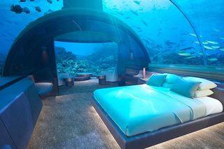 Khám phá khu nghỉ dưỡng xa hoa dưới lòng đại dương
