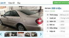Những chiếc ô tô Toyota cũ đang rao bán tầm giá 300 triệu tại Việt Nam