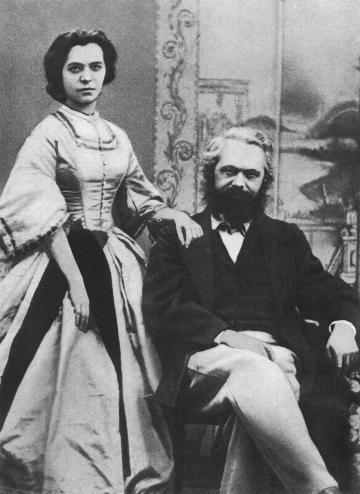 cau chuyen tinh lang man giua Karl Marx và vợ