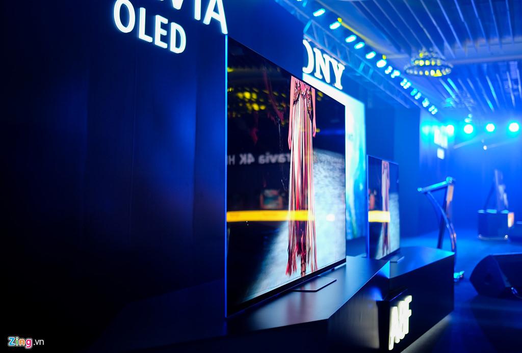 Sony đem bộ đôi TV 4K đầu bảng về Việt Nam