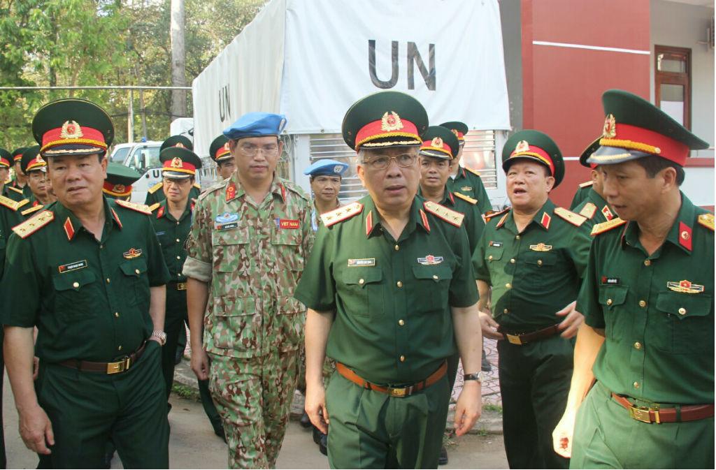 Thượng tướng Nguyễn Chí Vịnh,Liên hợp quốc,bệnh viện dã chiến