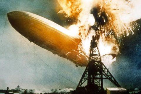 NNNX 6/5 thảm họa nổ khinh khí cầu Hindenburg