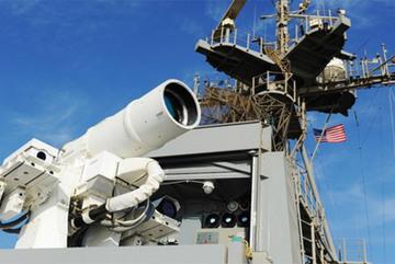 Uy lực khủng của siêu vũ khí laser Mỹ