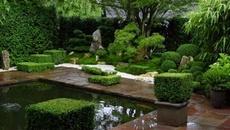 Vườn nhỏ trang trí theo phong cách Nhật đẹp thơ mộng cho mùa Hè mát lành