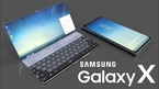 Samsung chế tạo điện thoại nắp gập có màn hình trong suốt