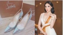 Diệp Lâm Anh sắm giày cưới Louboutin, Kỳ Duyên diện trang sức đắt đỏ