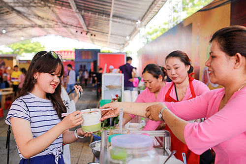 Ấn tượng lễ hội ẩm thực đường phố Đà Nẵng