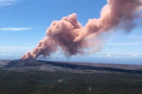 Núi lửa Hawaii phun trào