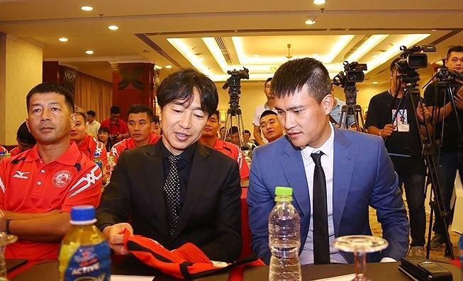 Công Vinh,CLB TPHCM,HLV Miura,V-League