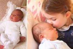 Công nương Kate khoe ảnh hoàng tử út