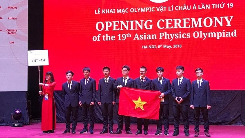 Olympic Vật lý Châu Á,thi Olympic