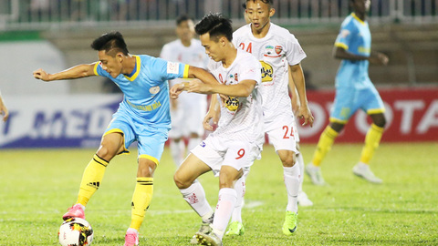 Khánh Hòa 1-1 HAGL