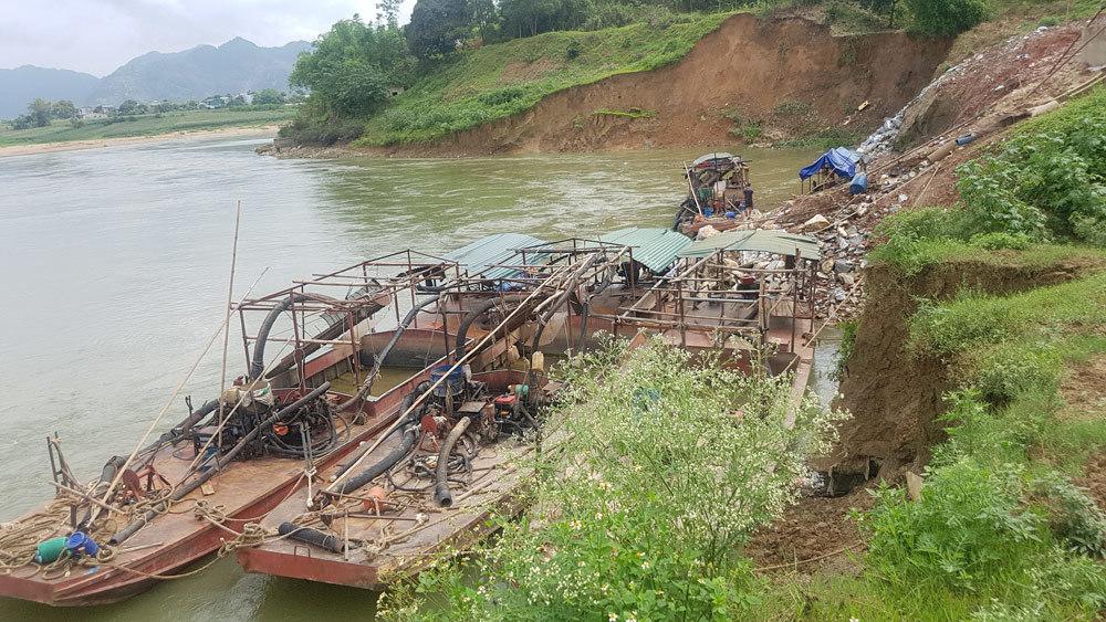 Tuyên Quang,sông Lô,sạt lở