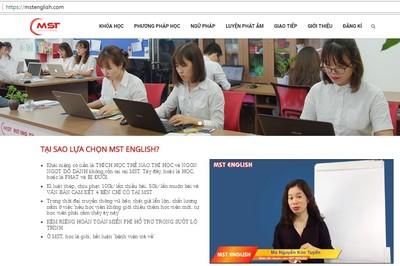 """Trung tâm tiếng Anh có cô giáo chửi học viên đang hoạt động """"chui"""""""