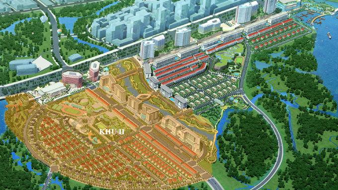 Khu Sala của Đại Quang Minh.