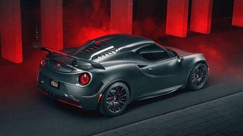 """Khám phá mẫu xe độ """"tí hon"""" Alfa Romeo 4C mạnh mẽ"""
