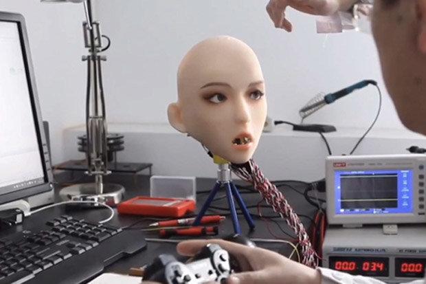 robot tình dục,búp bê tình dục