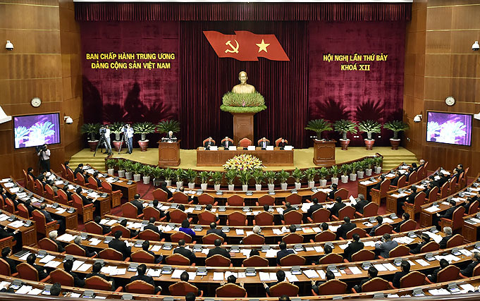 Tổng bí thư,Nguyễn Phú Trọng,Hội nghị Trung ương 7,Trung ương 7,chạy chức,chạy chức chạy quyền,kỷ luật cán bộ