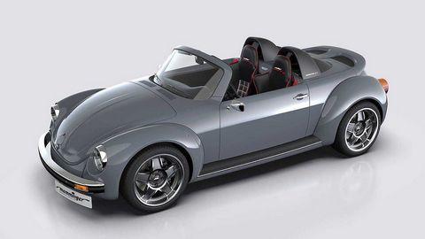 """Phiên bản xe độ độc từ """"con bọ' Volkswagen Beetle"""