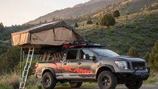 Xe độ cắm trại từ phiên bản SUV Nissan Armada