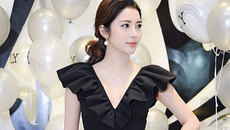 Vũ Ngọc Anh, Yan My đọ sắc đen trắng tại sự kiện