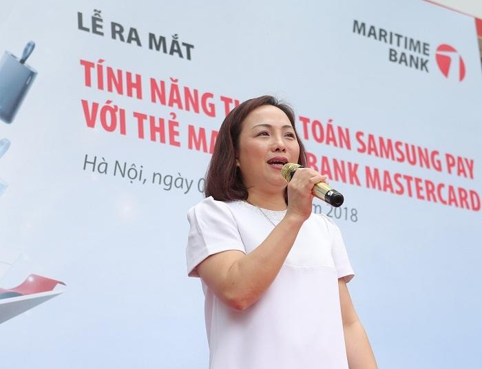 Maritime Bank ra mắt thêm phương thức thanh toán trên di động