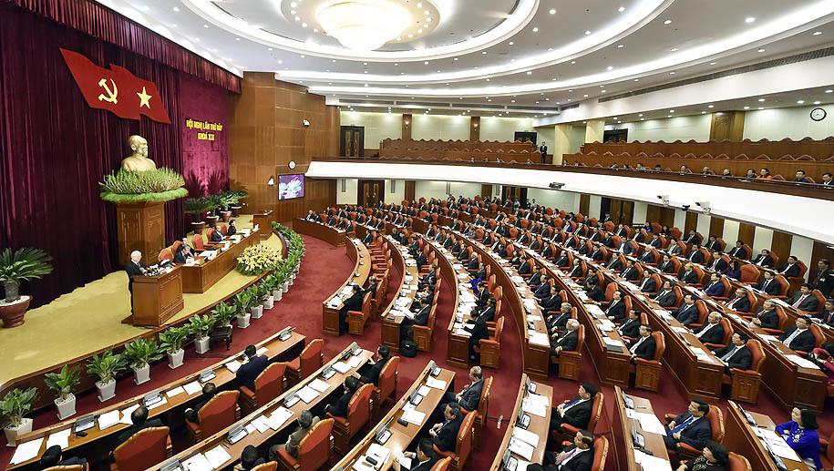 Ông Trần Cẩm Tú, Trần Thanh Mẫn được bầu vào Ban Bí thư