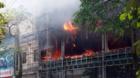 Quảng Ninh: Cháy lớn tại siêu thị điện máy