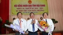 Nhân sự Hậu Giang, Đài Tiếng nói VN và Ban Quản lý Lăng Chủ tịch Hồ Chí Minh