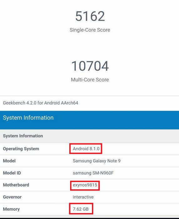 Galaxy Note 9,Samsung,smartphone