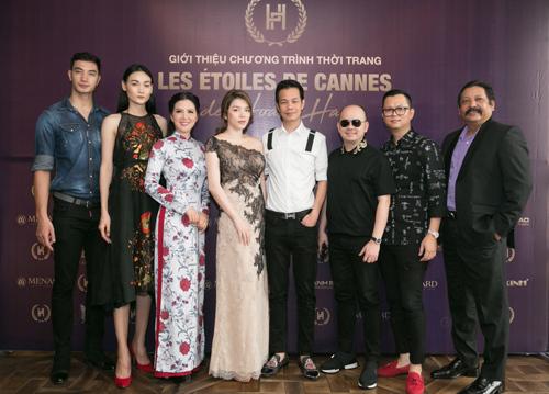 LHP Cannes 2018:  Đinh Hiền Anh trình diễn thời trang Hoàng Hải