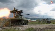 Uy lực xe tăng tự động Uran-9 của Nga