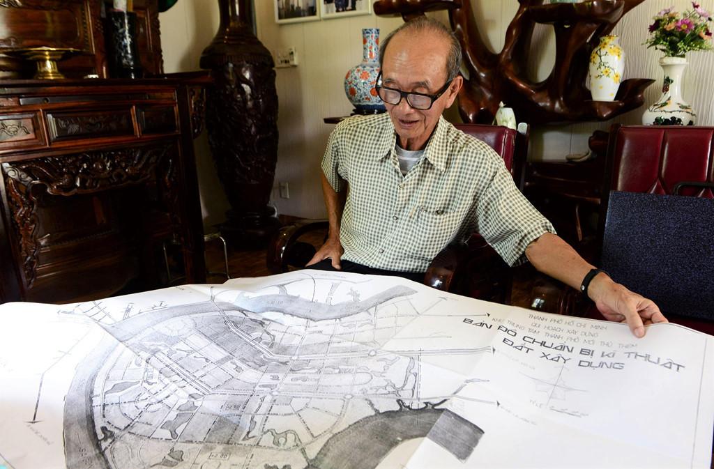 Nguyên Chủ tịch TP.HCM Võ Viết Thanh: Thủ Thiêm có tới mười mấy bản đồ