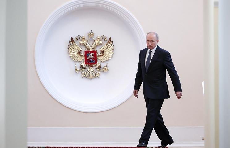 Hình ảnh đặc sắc trong lễ nhậm chức của Putin